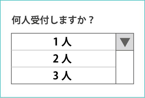 インターネット順番予約受付操作説明2